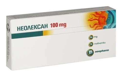 Изображение към продукта НЕОЛЕКСАН табл. 100 мг. * 30