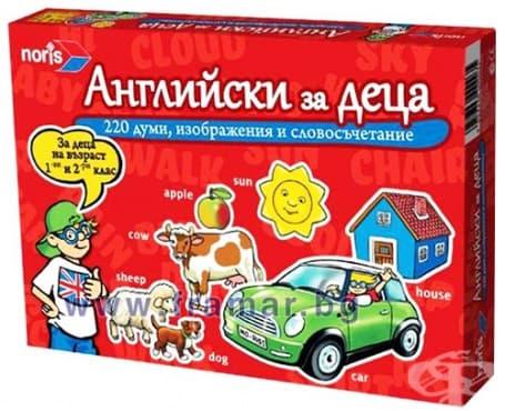 Изображение към продукта НОРИС ИГРА АНГЛИЙСКИ ЕЗИК ЗА ДЕЦА 606076362037