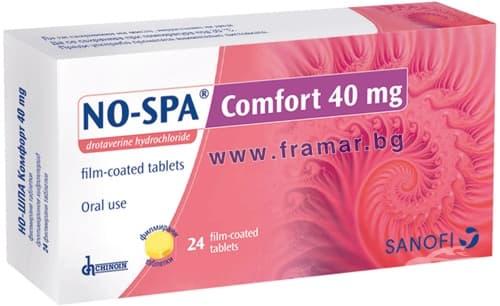 НО - ШПА КОМФОРТ табл. 40 мг. * 24 - изображение