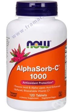 НАУ ФУДС АЛФАСОРБ - С таблетки 1000 мг * 120 - изображение