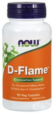 НАУ ФУДС D-FLAME капсули * 90 - изображение