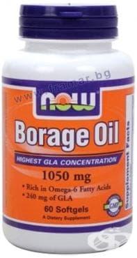 Изображение към продукта НАУ ФУДС МАСЛО ОТ ПОРЕЧ драже 1050 мг. * 60