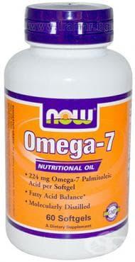 НАУ ФУДС ОМЕГА - 7 драже 224 мг. * 60 - изображение
