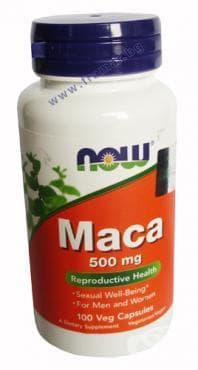 Изображение към продукта НАУ ФУДС МАКА капс. 500 мг. * 100