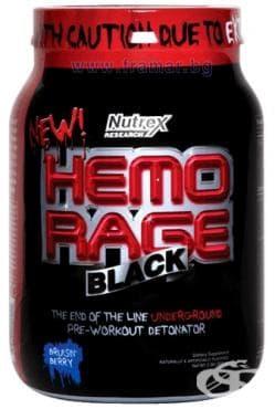 Изображение към продукта НУТРЕКС HEMORAGE BLACK 908 гр.