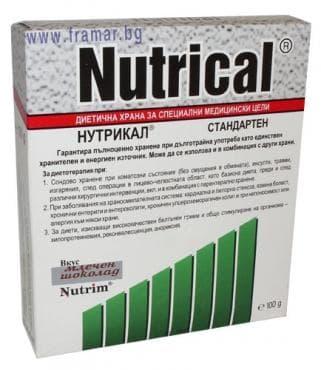 Изображение към продукта НУТРИМ НУТРИКАЛ - с вкус на млечен шоколад 100 гр.