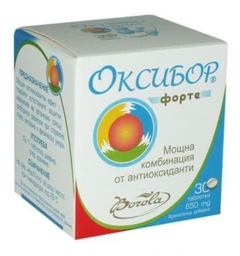 Изображение към продукта ОКСИБОР ФОРТЕ таблетки * 30