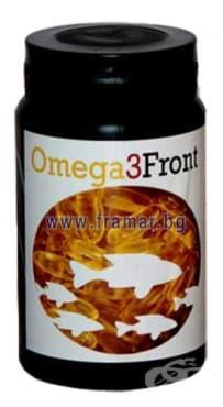 ОМЕГА 3 ФРОНТ капсули 1000 мг. * 60 - изображение