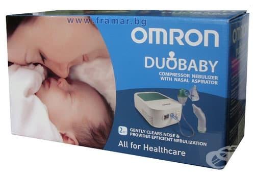 Изображение към продукта АПАРАТ ИНХАЛАТОР ОМРОН BABY NE-C301