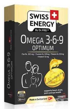 Изображение към продукта СУИС ЕНЕРДЖИ ОМЕГА 3 - 6 - 9 ОПТИМУМ капсули * 30