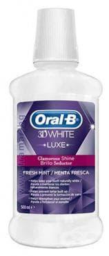ВОДА ЗА УСТА ОРАЛ - Б 3D WHITE LUXE 500 мл. - изображение