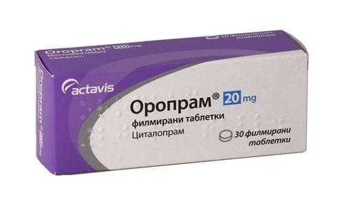 ОРОПРАМ табл. 20 мг. * 30 - изображение