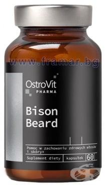 Изображение към продукта ОСТРОВИТ BISON BEARD ГРИЖА ЗА БРАДАТА капсули * 60
