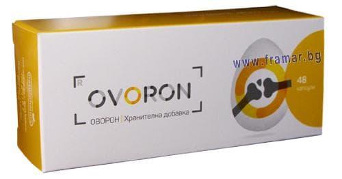Изображение към продукта ОВОРОН капсули * 48 НАТУРФАРМА