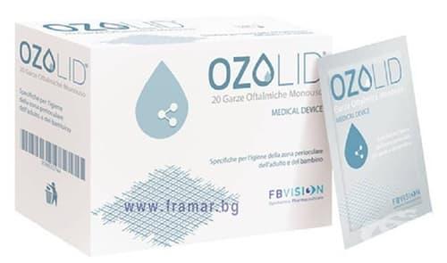 Изображение към продукта ОЗОЛИД очни марли * 20