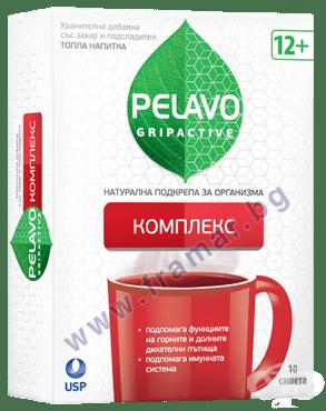 Изображение към продукта ПЕЛАВО ГРИПАКТИВ КОМПЛЕКС саше * 10