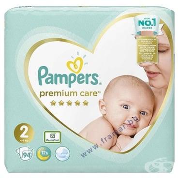 Изображение към продукта ПАМПЕРС ПРЕМИУМ МИДИ 4 - 8 кг * 94