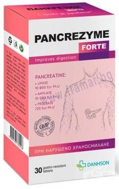 Изображение към продукта ПАНКРЕЗИМ ФОРТЕ таблетки * 30