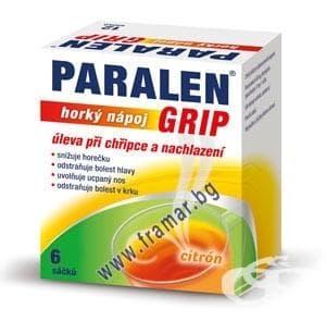 Paralen grip инструкция применения