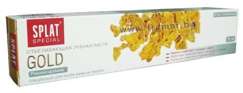 ПАСТА ЗА ЗЪБИ СПЛАТ СПЕЦИАЛ ГОЛД 75 мл. - изображение