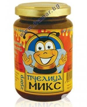 Изображение към продукта ПЧЕЛИЦА МИКС буркан 250 гр.