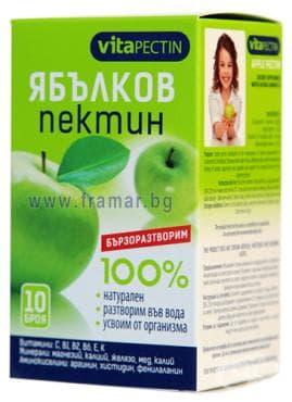 Изображение към продукта ПЕКТИН ЯБЪЛКОВ саше * 10 ВИТАПЕКТИН