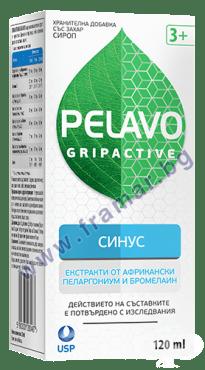 Изображение към продукта ПЕЛАВО ГРИПАКТИВ СИНУС сироп 120 мл