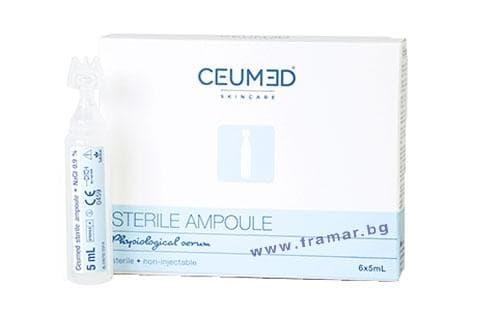 Изображение към продукта ЦЕУМЕД физиологичен разтвор 5 мл. * 6
