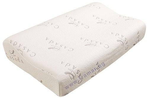 Изображение към продукта КАСАДА ВЪЗГЛАВНИЦА ОТ МЕМОРИ ПЯНА МЕДИ ДРИЙМ 60 х 34 см CMK - 151