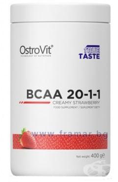 Изображение към продукта ОСТРОВИТ BCAA 20:1:1 прах 400 г