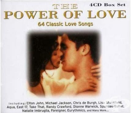 Изображение към продукта МУЗИКАЛНА КОЛЕКЦИЯ - POWER OF LOVE - 4 КОМПАКТ ДИСКА