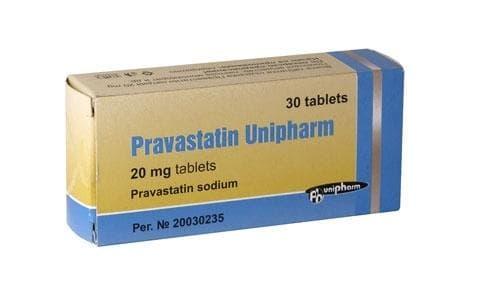 ПРАВАСТАТИН табл. 20 мг. * 30 - изображение