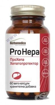 Изображение към продукта ПРО ХЕПА капсули 460 мг * 60 ХЕРБА МЕДИКА