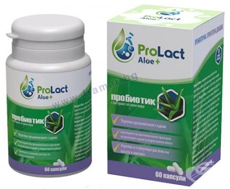 Изображение към продукта ПРОЛАКТ АЛОЕ + капсули * 60