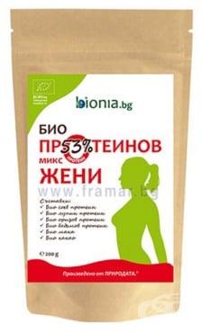 Изображение към продукта ПРОТЕИНОВ МИКС ЗА ЖЕНИ 200 г БИОНИА