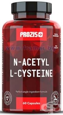 ПРОЗИС N-АЦЕТИЛ L-ЦИСТЕИН капсули 600 мг * 60 - изображение