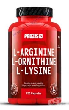 Изображение към продукта ПРОЗИС L - АРГИНИН / L - ОРНИТИН / L - ЛИЗИН капсули * 120