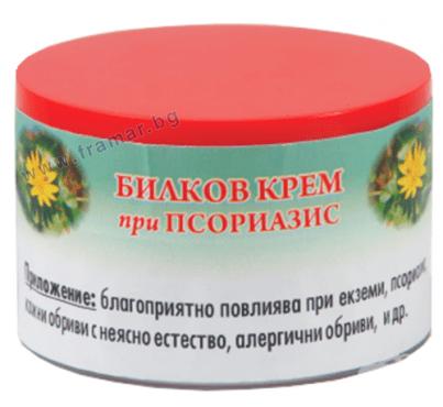 БИЛКОВ КРЕМ ПРИ ПСОРИАЗИС 40 мл. - изображение