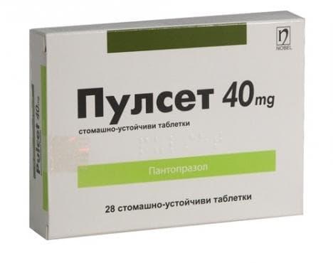 Изображение към продукта ПУЛСЕТ табл. 40 мг. * 28