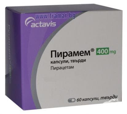 ПИРАМЕМ капс. 400 мг. * 60 - изображение