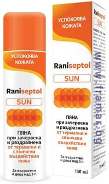 Изображение към продукта РАНИСЕПТОЛ СЪН спрей - пяна 150 мл