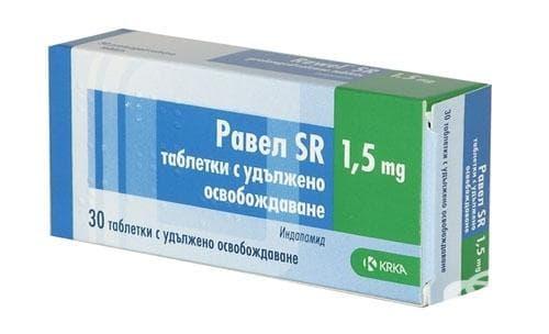 РАВЕЛ SR табл. 1.5 мг. * 30 - изображение