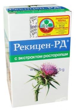 РЕКИЦЕН-РД БЯЛ ТРЪН таблетки * 90 - изображение