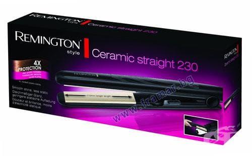 Изображение към продукта РЕМИНГТОН ПРЕСА ЗА КОСА CERAMIC STRAIGHT 230 S3500