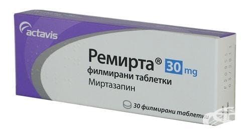 Изображение към продукта РЕМИРТА табл. 30 мг. * 30