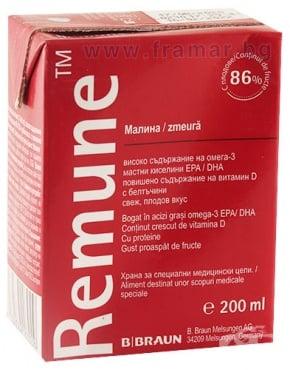 Изображение към продукта РЕМЮН МАЛИНА 200 мл