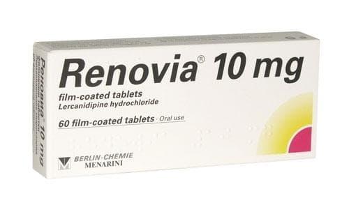 РЕНОВИА табл. 10 мг. * 60 - изображение