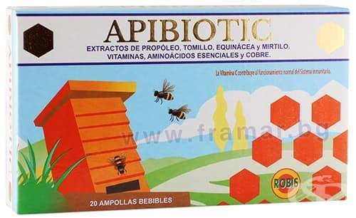 Изображение към продукта АПИБИОТИК ампули 10 мл * 20