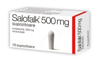 Изображение към продукта САЛОФАЛК  супозитории 500 мг. * 10