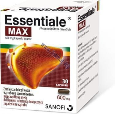Изображение към продукта ЕСЕНЦИАЛЕ МАКС капс. 600 мг. * 30
